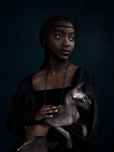 Jenny Boot, 'Jenny Boot, Da Vinci's Cat', 2019