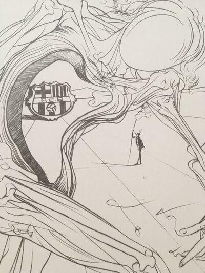 Salvador Dalí, '75è Aniversari FC Barcelona', 1970-1979