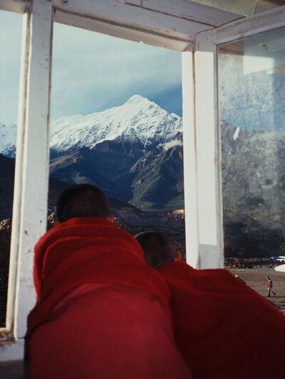 Ralf Schmerberg, 'Traveling Reincarnations, Jomsom Airport, Mustang, Nepal', 1999