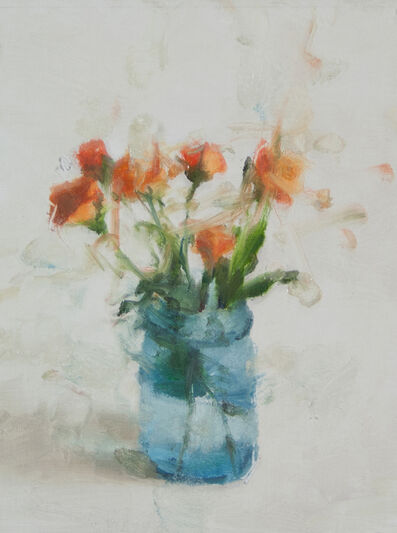 Jordan Wolfson (b.1960), 'Still Life with Roses and Blue Glass I', 2014
