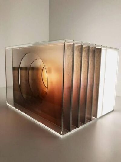 Magda Von Hanau, 'O Olhar, Light  box wall sculpture', 2017