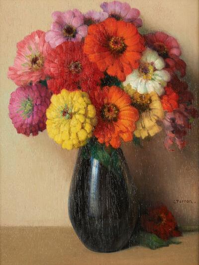 Charles Perron, 'Vase Fleuri'