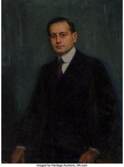 Joseph Kleitsch, 'Portrait of Charles F.W. Nichols', 1920