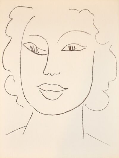 Henri Matisse, 'Biadjaws', 1972