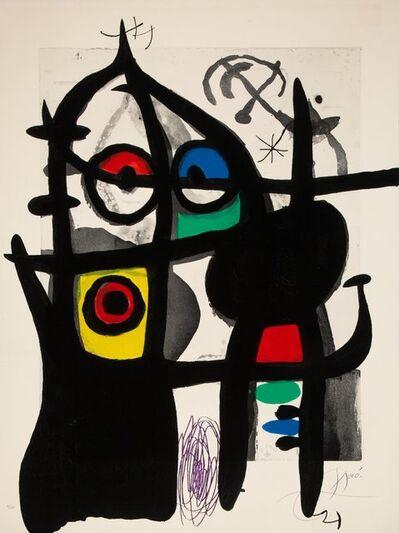 Joan Miró, 'Le Captive', 1969