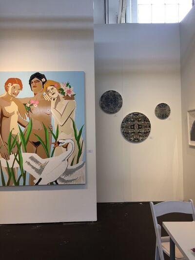 t.w.five, 'installation at ArtMarket San Francisco ', 2018