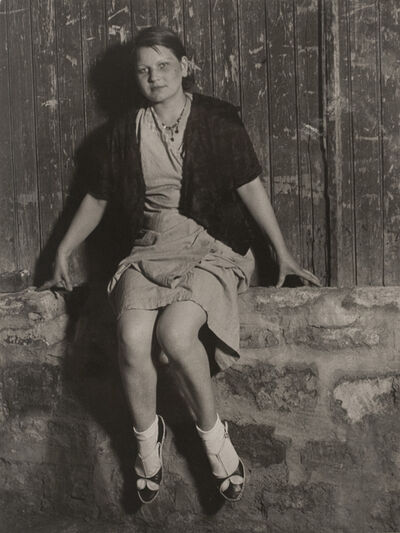 Brassaï, 'Jeune fille de joie, Quartier Italie', ca. 1932