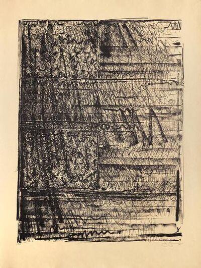 Jasper Johns, 'Two Flags', 1980-1981