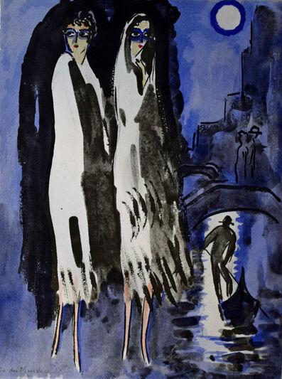 Kees van Dongen, 'Two Women in the Night', 1925