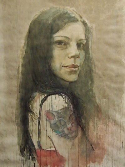 "Elena Balsiukaitė-Brazdžiūnienė, '""Catgirl""', 2015"