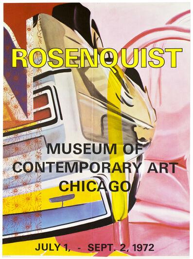 James Rosenquist, 'Museum of Contemporary Art Chicago 1972', 1972