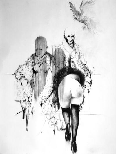 Bernardí Roig, 'Tableaux Vivant III. (Prince Pierre, J.C. et Madame K.)', 2017