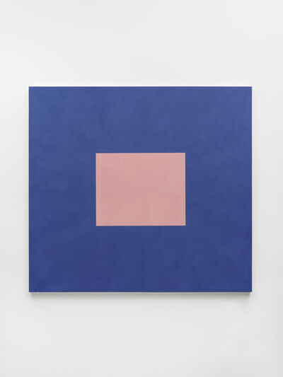 Peter Joseph, 'Light Pink with Cobalt Blue', 1994