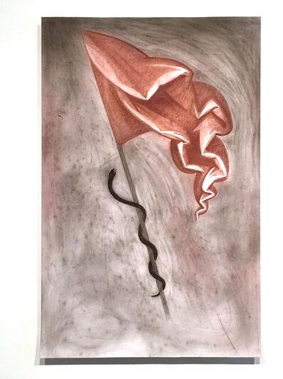Nikita Kadan, 'Serpent on a flag', 2016