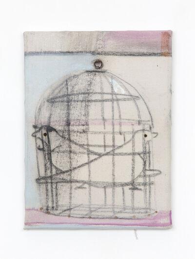 Merlin James, 'Birdcage', 2018
