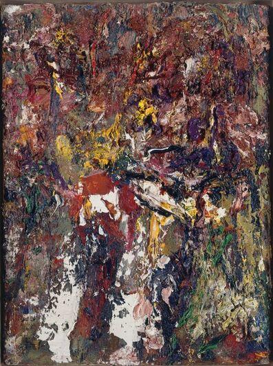 "Eugène Leroy, '""Ides de mars-iris""', 1992"