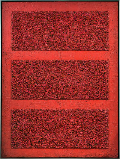 Benjamin Masi, 'Red Bars', 2019