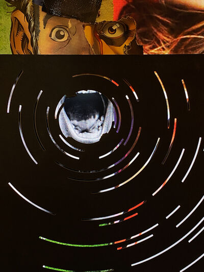Christian Marclay, 'Untitled (Concentric Waves)', 2020
