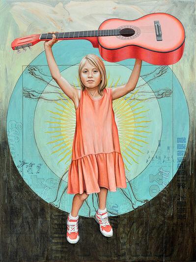 Mark Penner-Howell, 'Vitruvian Pink', 2018