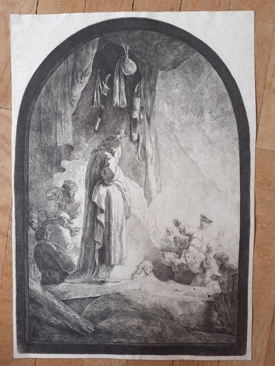 Rembrandt van Rijn, 'The Raising of Lazarus', 1632