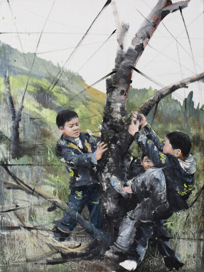 Li Tianbing, 'Branches game #5', 2020