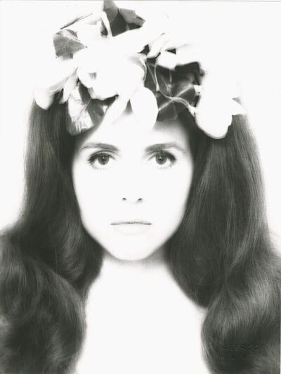 Harry Ossip Meerson, 'Portrait  of Anne-Marie Edvina', 1961