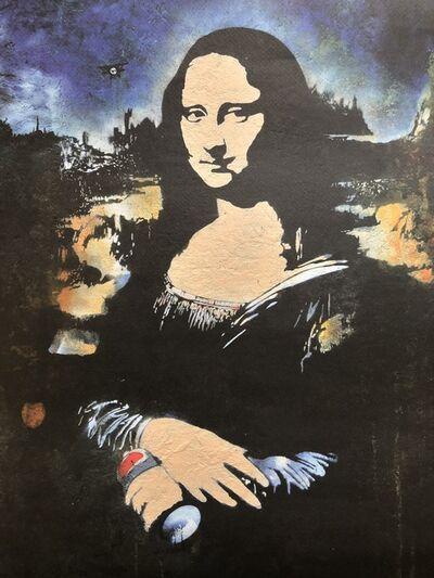 Blek le Rat, 'Mona Spray Can', 2012