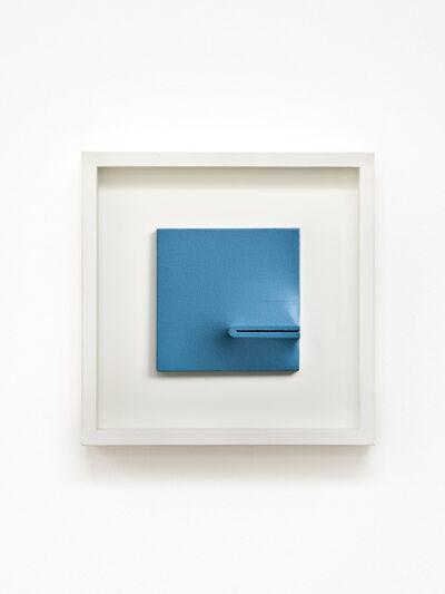 Agostino Bonalumi, 'Blu', 1970