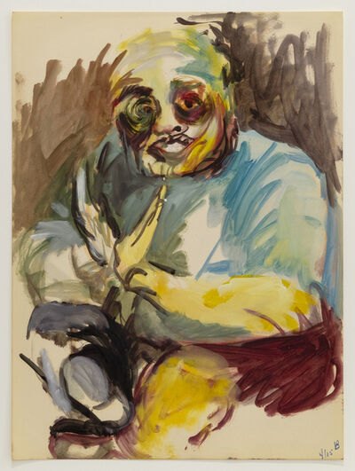Vivian Browne, 'Little Men #105', ca. 1967