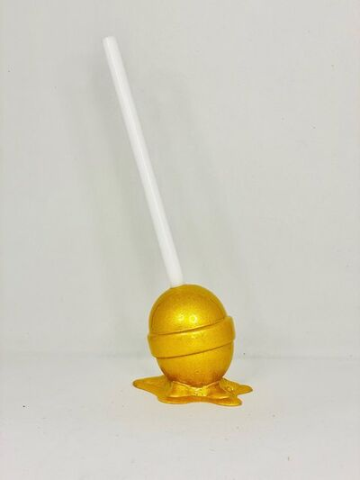 Elena Bulatova, 'Micro Gold Lollipop', 2020
