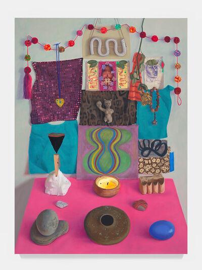 Clarity Haynes, 'Lion Altar (Summer into Fall)', 2019