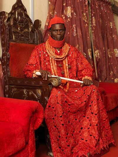 George Osodi, 'HRM Pere Donokoromo ll,  The Pere of Isaba Kingdom '