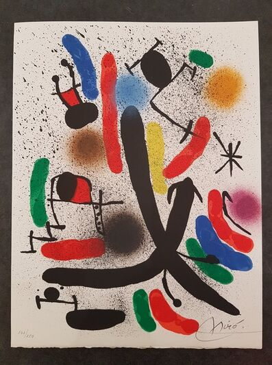 Joan Miró, ' Lithographie I ', 1972
