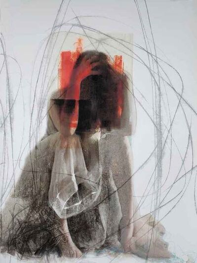 Joann Côté, ' Red hands (Les mains rouges)', 2019