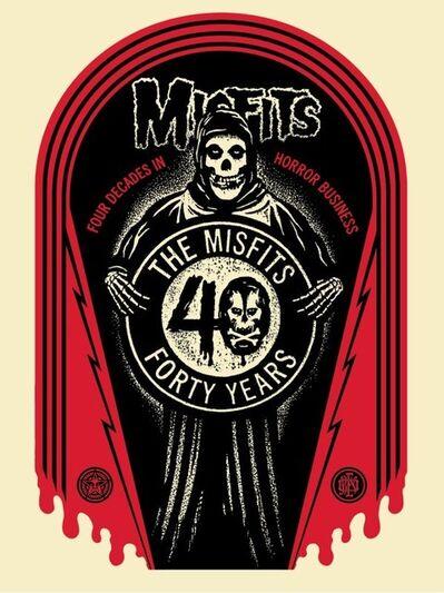 Shepard Fairey, 'Misfits 40th Grave', 2017