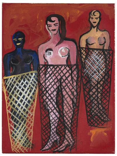 Elvira Bach, 'Was ist denn hier los', 1995