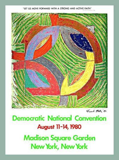 Frank Stella, 'Democratic Convention (Hand Signed)', 1980