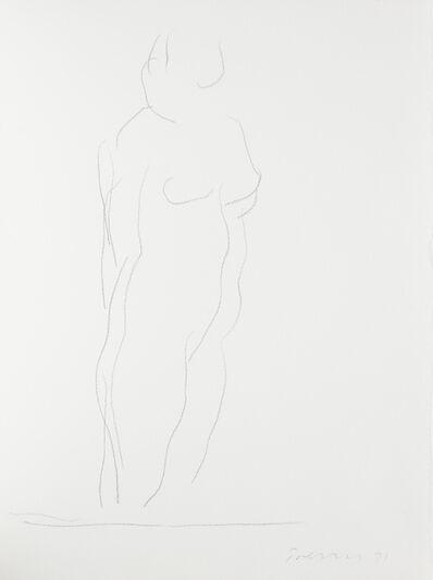 William Turnbull, 'Untitled (Nude 2)', 1971