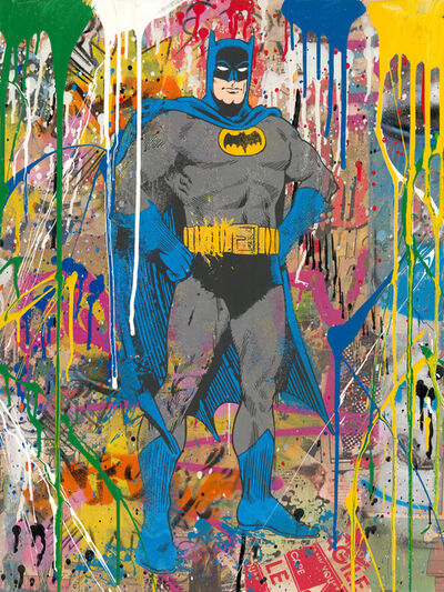Mr. Brainwash, 'Batman', 2019