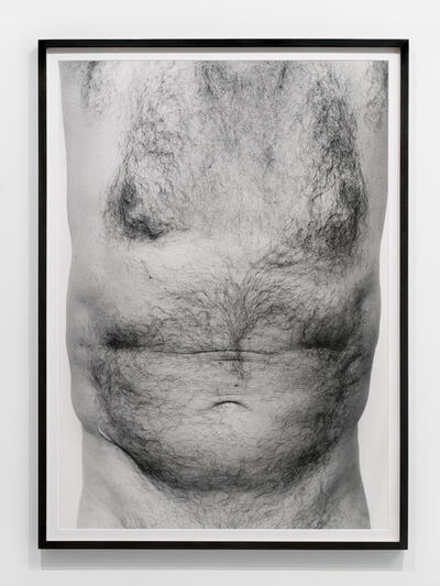 John Coplans, 'Self Portrait, Torso Front', ca. 1984
