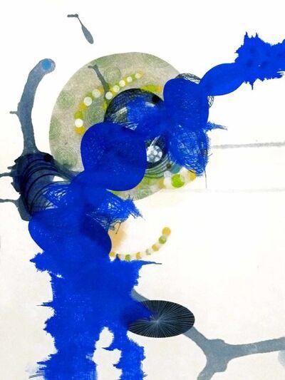 Yvonne Estrada, '#406-12 Blue', 2012