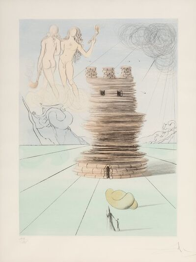 Salvador Dalí, 'Simon, from Twelve Tribes of Israel', 1972