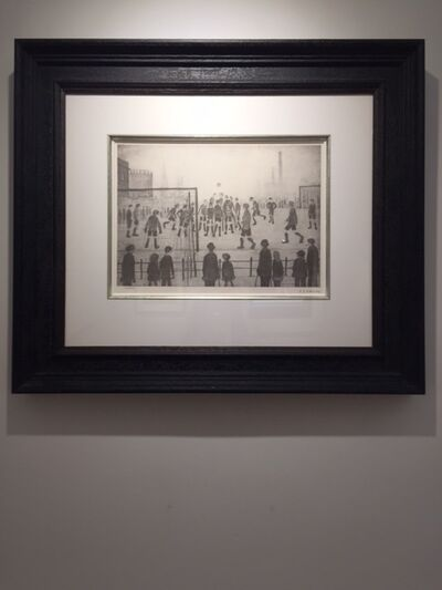 L.S. Lowry, 'The Football Match', 1973