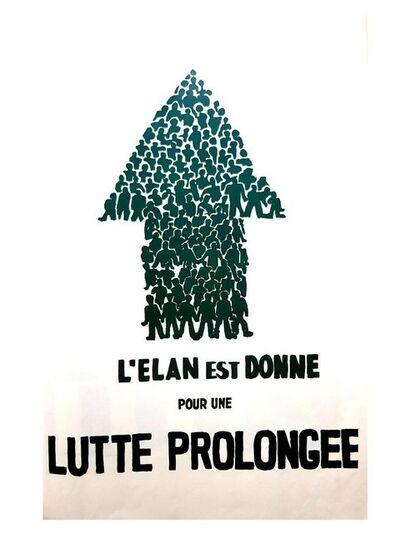 "UNKNOW, 'Mai 68 Original French Poster ""Struggle""', 1968"
