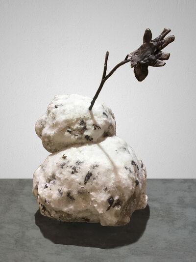 Tony Tasset, 'Untitled (Snowman)', 2017