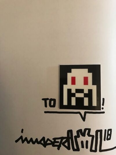 Invader, 'Space Invader Los Angeles Signed Book', 2018