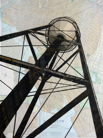 William Steiger, 'Watertower Red Hook', 2020