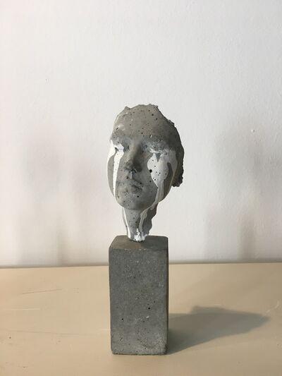Beatrice Bizot, 'Visage larmes 3'