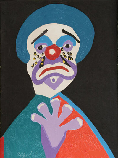 Karel Appel, 'The clown with the golden tears', 1978