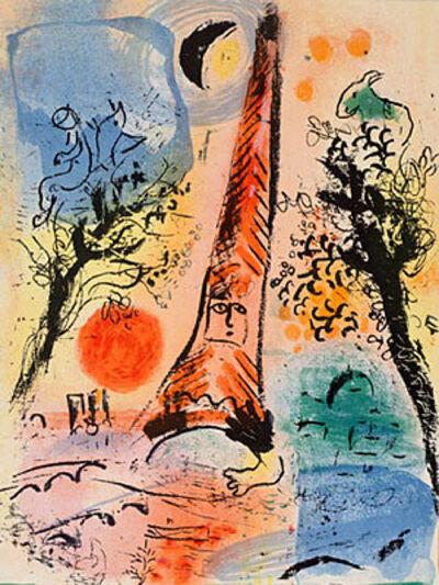 Marc Chagall, 'Vision de Paris (Vision of Paris)', 1960